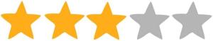 3 hvezdy