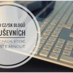 TOP 10 CZ/SK blogů o duševních poruchách, které nesmíte minout