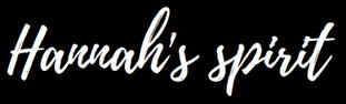 HANNAH'S SPIRIT